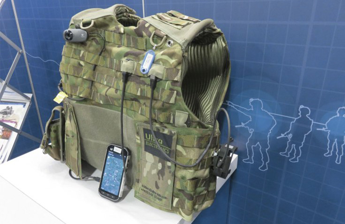 2iC software showcased as part of Ultra Electronics dismounted soldier system